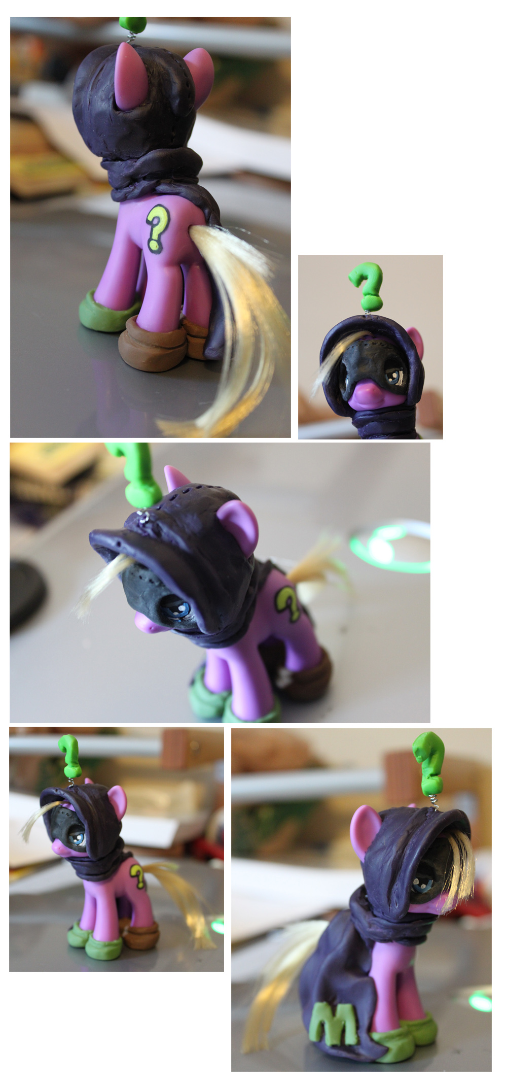 My first MLP custom, Mysterion.