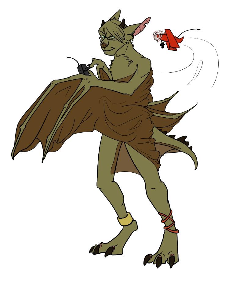A bat character.