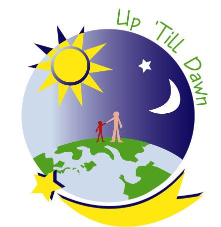A logo I did for a campus org called 'Up 'Till Dawn.' This is prolly one of my favorites.
