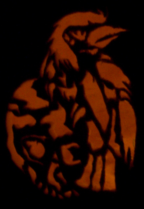 Another pumpkin carving I did.