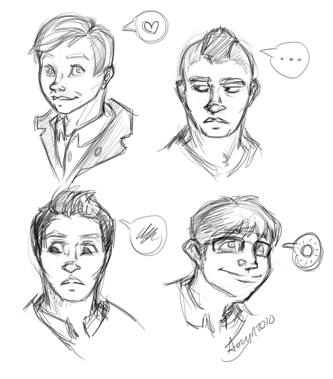 The guys from Glee. :D