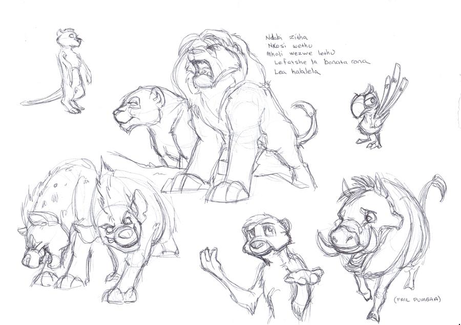 More TLK Sketches.