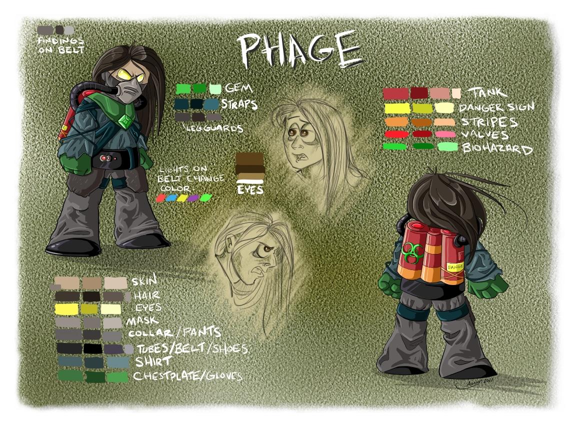 Phage design ref.