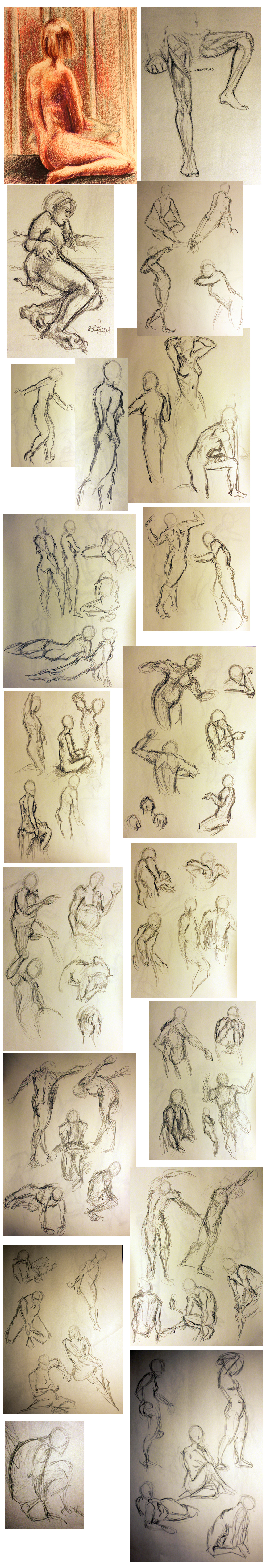 Gestures from college.
