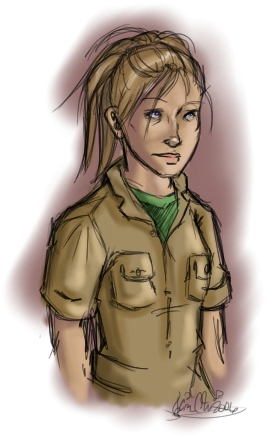 Carly, a potential character for a Gaia RP.