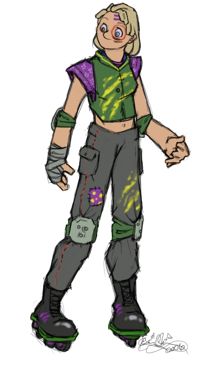 Possible Tribe OC, Lucky. And before anyone says anything, it's called Heterochromia, and it occurs in about 1% of the population. Impossible? Nah. Only 1% of the population has AB- blood, and I'm part of it. :D