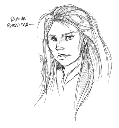 Daphne Rousseau, my character on HeroesMUSH.