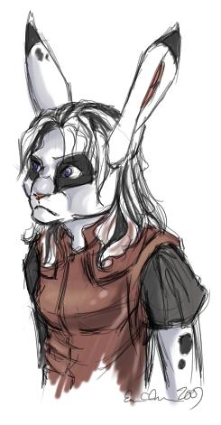 Rabbit-Suzee. Changestorm on TIG.