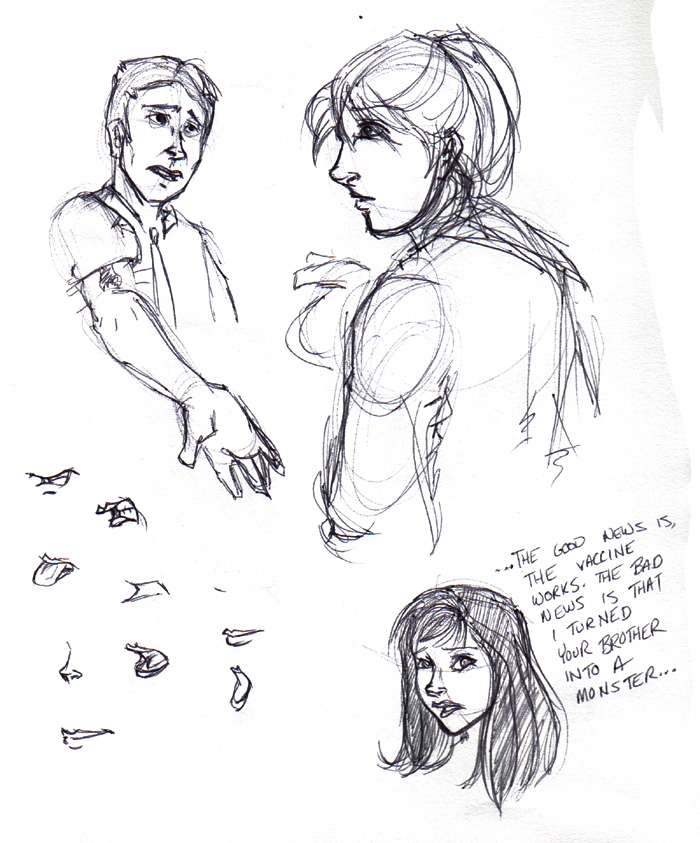 Nathan shows Janet his Atma. (Young) Janet at the bottom explains to Peter what happened. :D