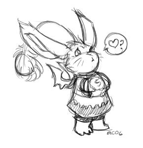 Cute moogle! :D