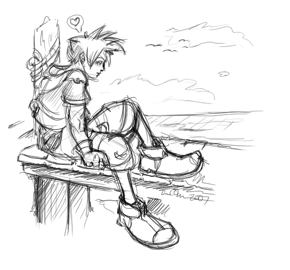 Sora on the pier~